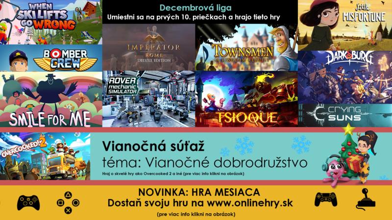 Mesačná liga - DECEMBER/Vianočná súťaž